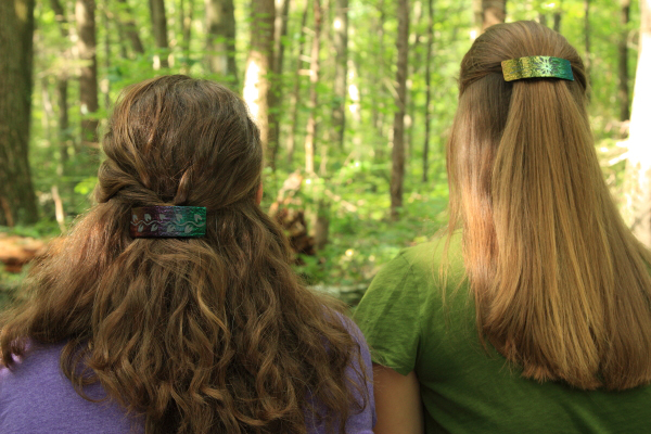 barrettes outdoors