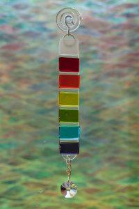 glass rainbow rod suncatcher 1